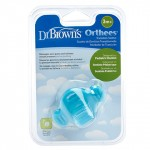 "Dr. Brown's Transition Teether ""Orthees"" - Blue"