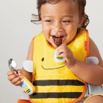 Skip Hop Zootensils Fork And Spoon - Bee