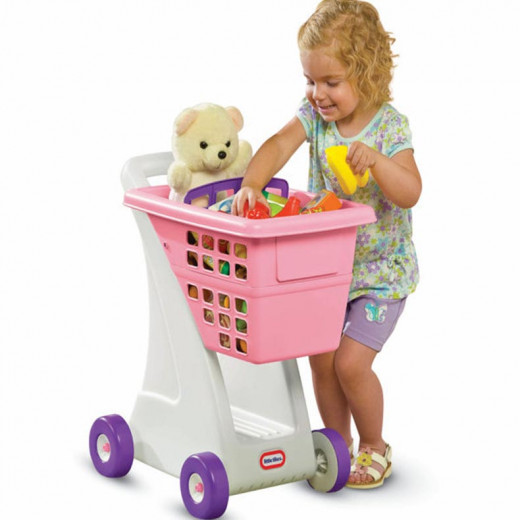 Little Tikes Pink Shopping Cart