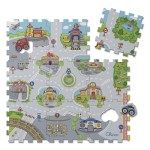 Chicco - Soft Puzzle Mat City (9 Pieces)