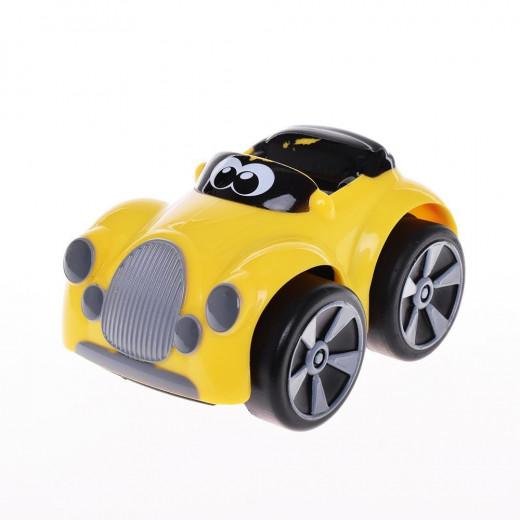 سيارة شيكو المثيرة بتصميم هنري ماكليود - اصفر