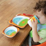 Skip Hop Zoo Melamine Plate and Bowl Set - Dog