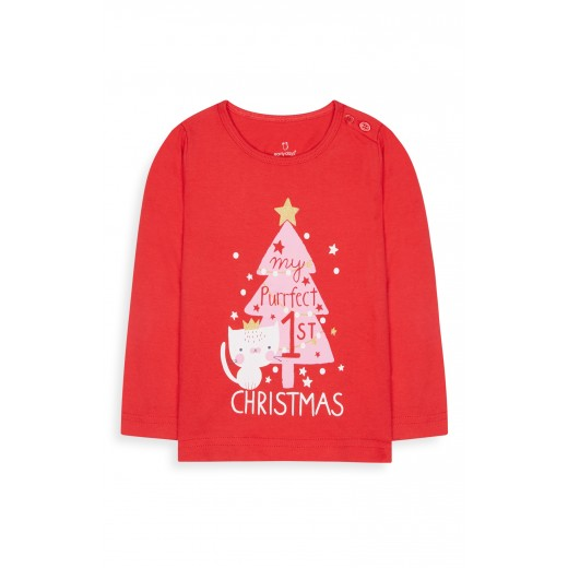 Primark My perfect 1st Christmas shirt 0-12 Months