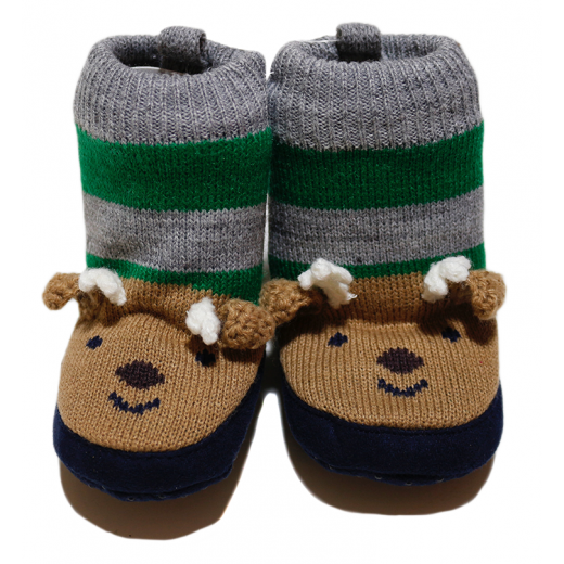 Winter Slippers - 0-6 Months