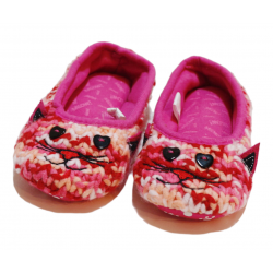 Winter Slippers -Cat - Medium