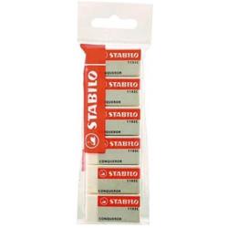 Stabilo Conqueror Eraser 6 Pieces