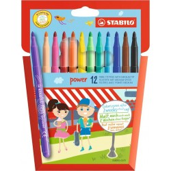 Stabilo Power 12 Fiber-Tip Pen