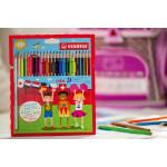 Stabilo color Wallet of 24 colours - Coloured pencil