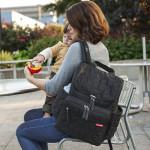 Skip Hop Forma Pack and Go Diaper Backpack, Black