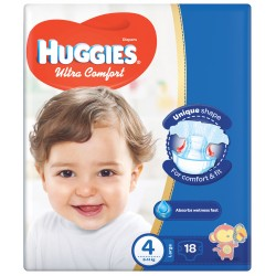 Huggies Convenience Size (4) 8-14KG 18 Diapers