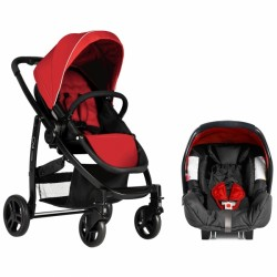Graco Evo Travel System-Chilli