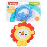 Fisher-Price Peek-a-Boo Lion Mirror Rattle Toy