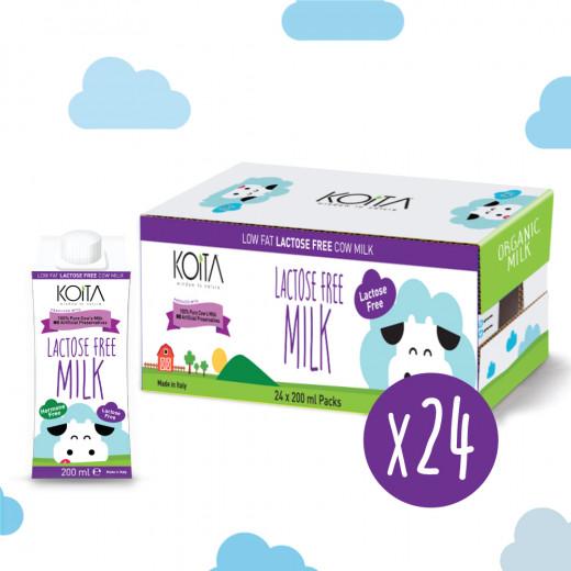 Koita Low Fat Lactose Free 200 ml X24