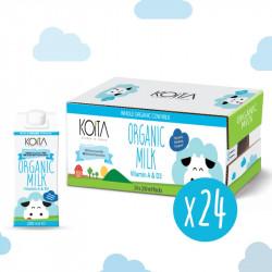 Koita Organic Whole Milk 200 ml X24