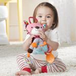 لعبة باديز بيبي لأنشطة الأطفال والتسنين, نمر وردي