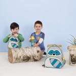 حقيبة الغذاء للاطفال متعددة الالوان من سكيب هوب , راكون