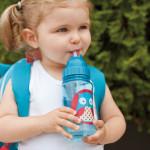 Skip Hop Zoo Straw Bottle, Owl