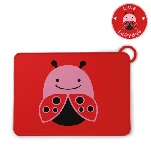 Skip Hop Baby Zoo Little Kid Placemats - Ladybug