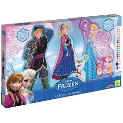 Disney Sticky Mosaics Disney Frozen Template (Large)