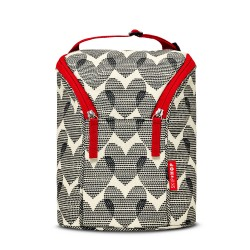 Skip Hop Double Bottle Insulated Bag - Hearts