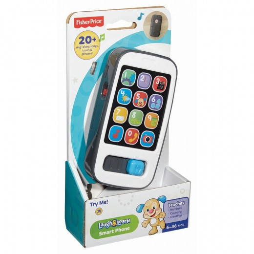 Fisher Price Laugh and Learn-Smart Phone Toy
