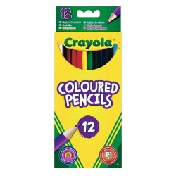 Crayola 12 Long Coloring Pencils