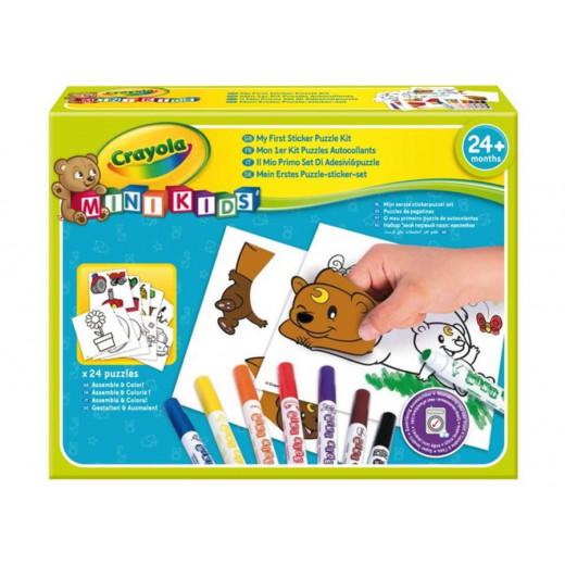 1st Puzzle Sticker Kit