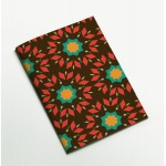 Colors & Shapes Geometric Flower Oriental Pattern Notebook