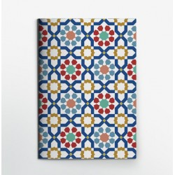 Colors & Shapes Morocan Tradition Oriental Pattern Notebook