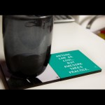 Anyone Can Be Cool. But Awesome Takes Practice Coasters