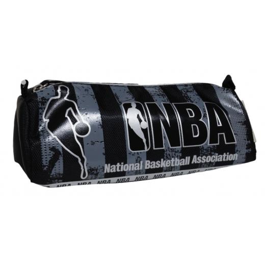 NBA Black & Gray Pencil Bag