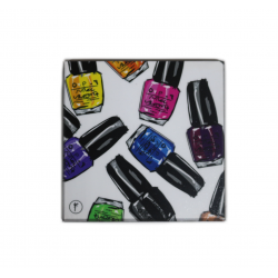 YM Sketch-Nail Polish Coasters