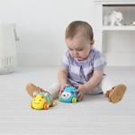 Skip Hop Explore and More Pull-and-Go Toy Car, Bee