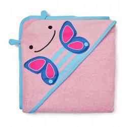 Skip Hop Zoo Hooded Towel - Butterfly