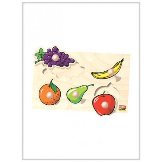 Edu Fun Big Knobs Fruit Puzzle