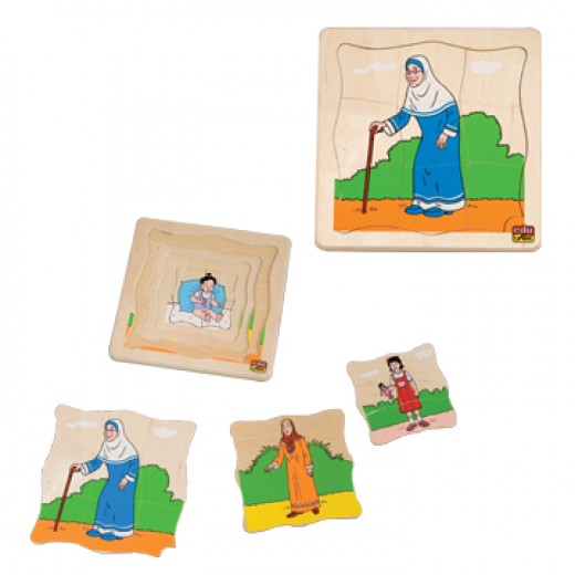 Edu Fun Growth Puzzle Arabian Woman
