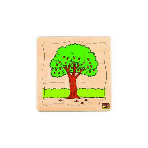 Edu Fun See How They Grow Puzzles (Tree)
