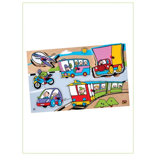 Edu Fun Insert strip puzzles / Transport
