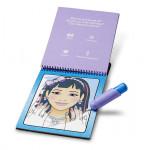 كتاب تلوين مع القلم المخصص له باشكال للبنات من الأظافر و المكياج من مليسا اند دو