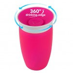 Munchkin Miracle 360° Cup - 10oz (Pink/White)