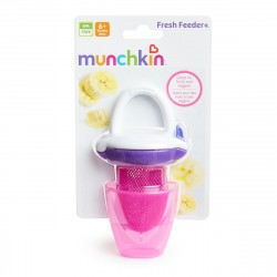 Munchkin Deluxe Fresh Food Feeder (Pink/Purple)