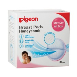 Pigeon Honeycomb Breast Pads 36 Pieces