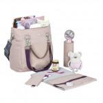 Lassig Mix 'n Match Diaper Bag - Rose