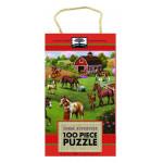 Innovative Kids Green Start 100-Piece Puzzle: Horse Adventure Puzzle
