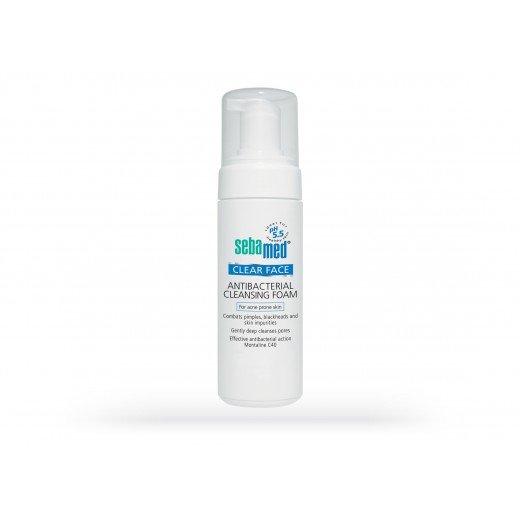 Sebamed Clear Face Anti-Bacterial Cleansing Foam 150ml