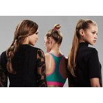 invisibobble ORIGINAL Hair Ties, True Black, 3 Pack - Traceless, Strong Hold, Waterproof - Suitable for All Hair Types