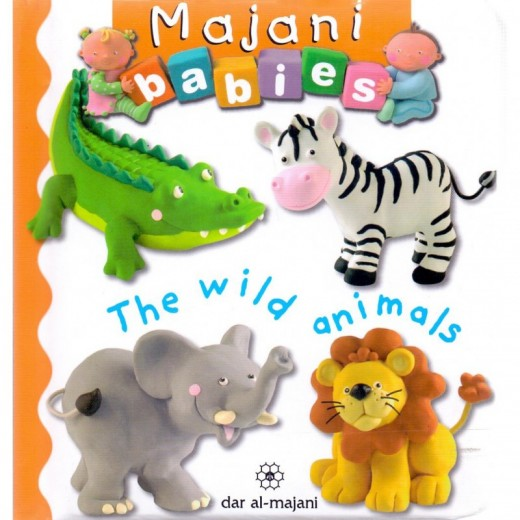 Majani Babies: The Wild Animals - English