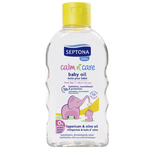 Septona Baby Oil with Hypericum And Olive Oil 200 ml