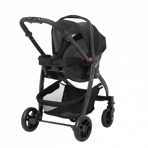 Graco Evo Avant Travel Stroller, Black Grey