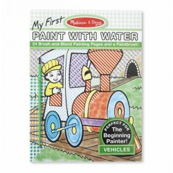 Melissa & Doug My First Paint with Water - Vehicles